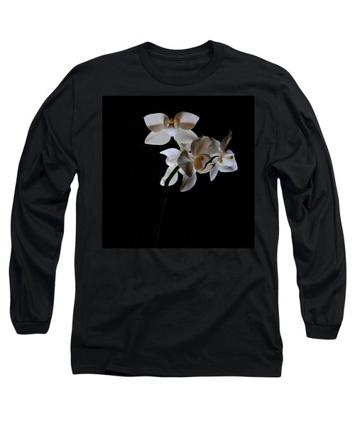 Long Sleeve T-Shirt featuring the photograph Triplets II Color by Ron White