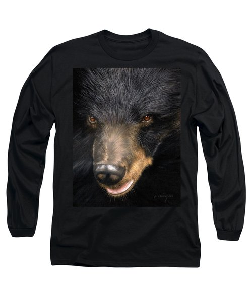 Trixie Moon Bear - In Support Of Animals Asia Long Sleeve T-Shirt