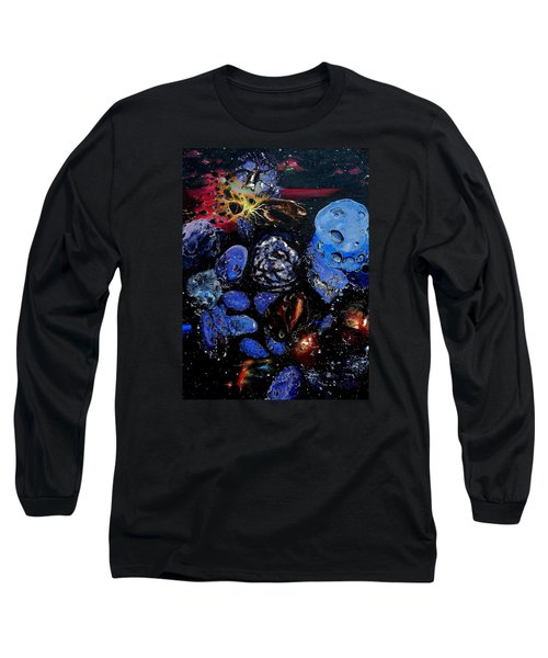 Trojans And Meteoroids Long Sleeve T-Shirt by Raymond Perez