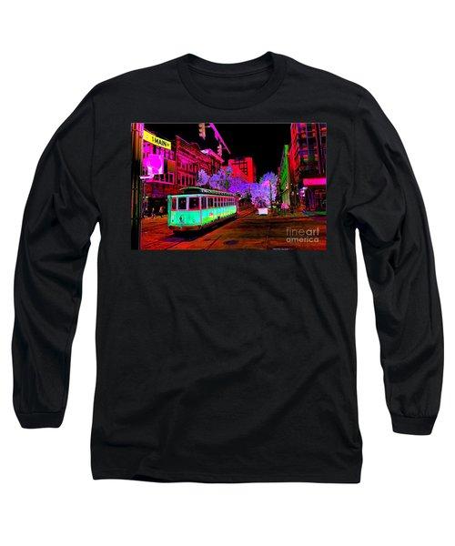Trolley Night Digital  Long Sleeve T-Shirt