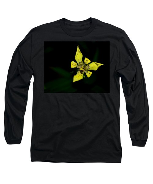 Long Sleeve T-Shirt featuring the photograph Tropic Yellow by Miguel Winterpacht