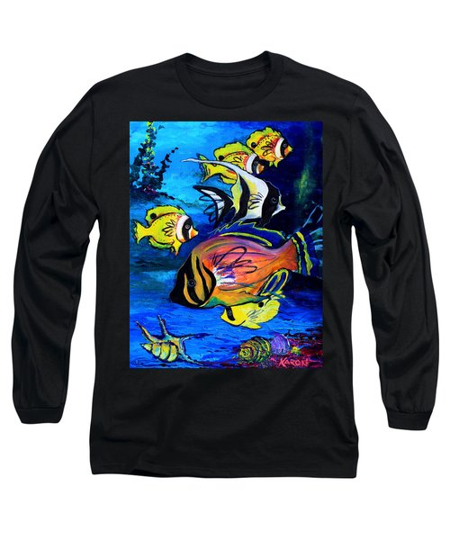 Tropical Fish Long Sleeve T-Shirt
