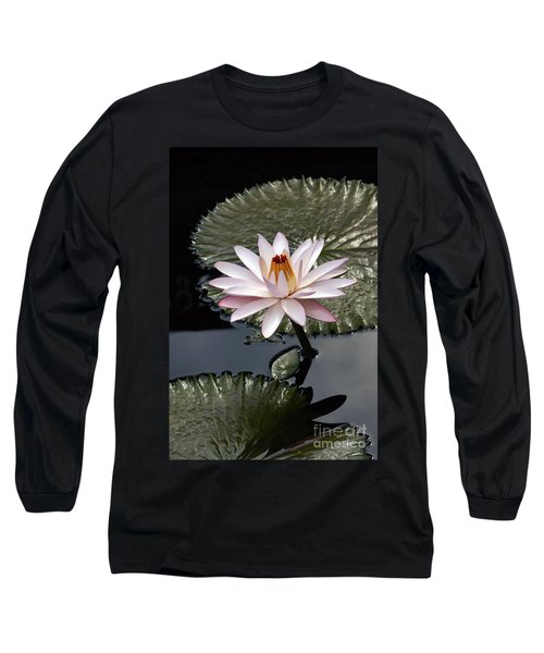 Tropical Floral Elegance Long Sleeve T-Shirt