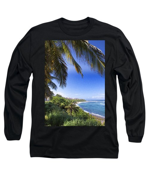 Long Sleeve T-Shirt featuring the photograph Tropical Holiday by Daniel Sheldon