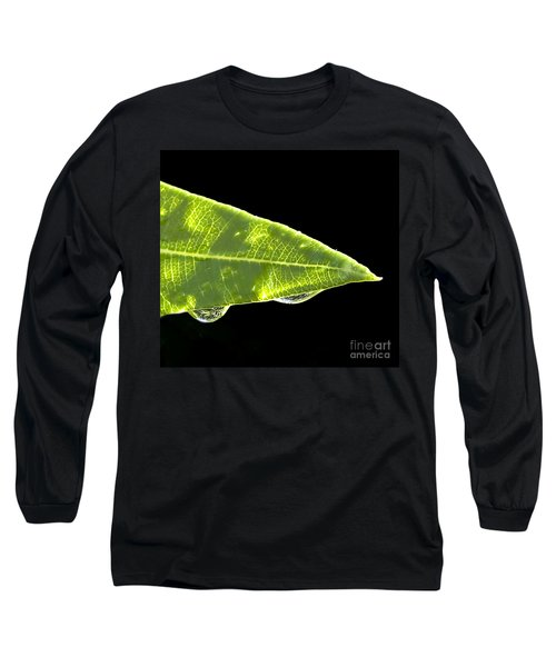 Tropical Reflections Long Sleeve T-Shirt by Anne Rodkin
