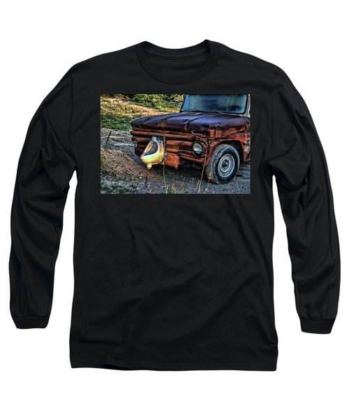 Truck With Benefits Long Sleeve T-Shirt