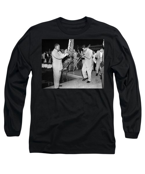 Trumpeter Louis Armstrong Long Sleeve T-Shirt