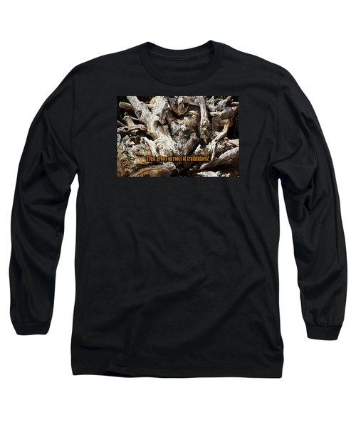 Long Sleeve T-Shirt featuring the photograph Truthfulness by Phyllis Denton