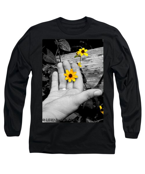 Try Seeing It In Color Long Sleeve T-Shirt
