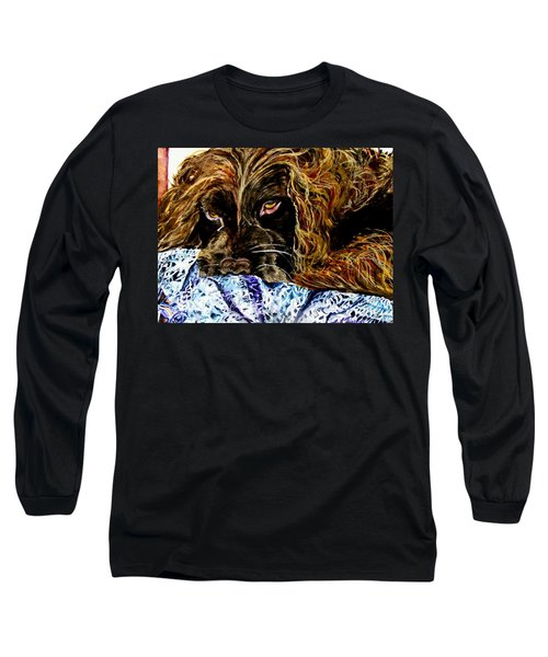 Trying To Sleep Here Long Sleeve T-Shirt