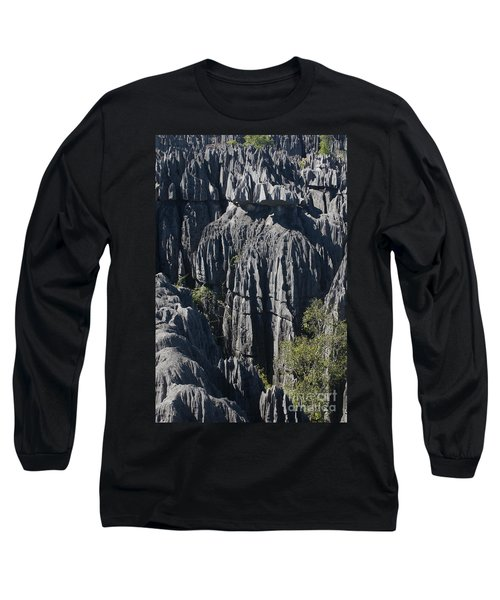 Long Sleeve T-Shirt featuring the photograph Tsingy De Bemaraha by Rudi Prott