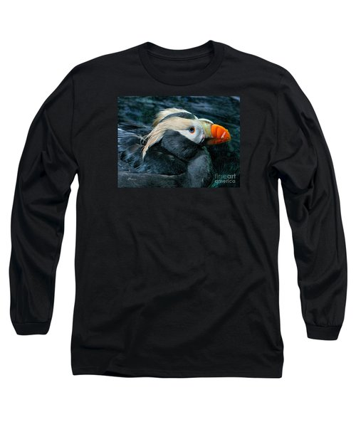 Tufted Puffin Profile Long Sleeve T-Shirt