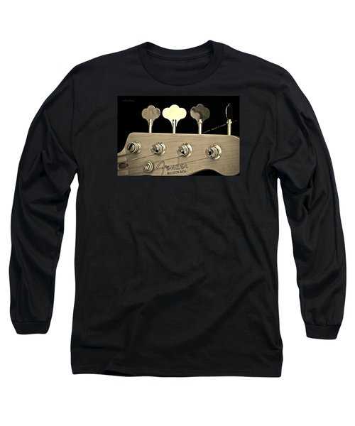 Fender Precision Bass Long Sleeve T-Shirt by Chris Berry