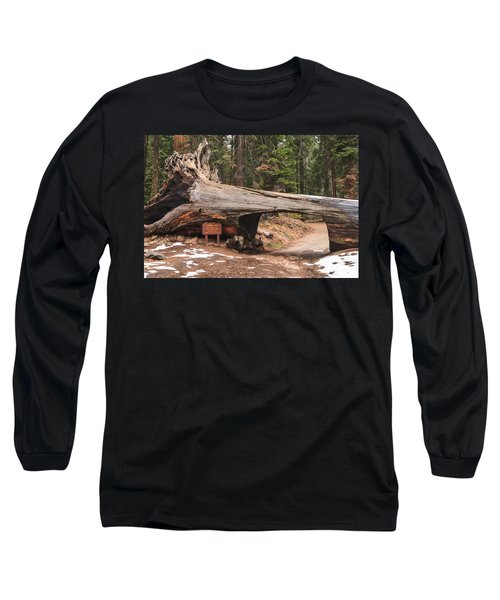 Tunnel Log Long Sleeve T-Shirt