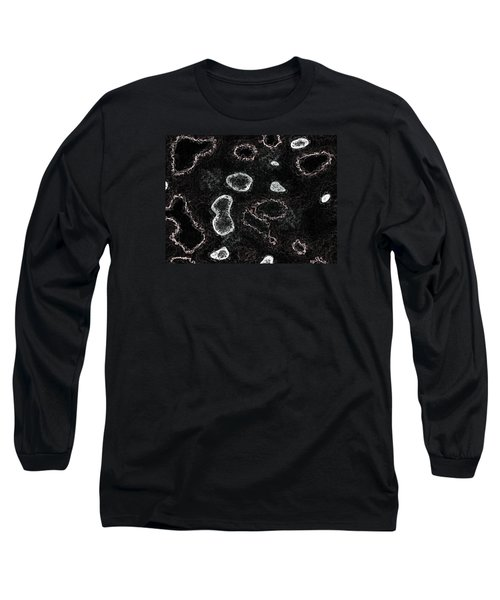Long Sleeve T-Shirt featuring the digital art Tunnels Of Aerial Blasphemy by Jeff Iverson