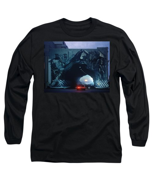 Tunnelvision Long Sleeve T-Shirt by Blue Sky
