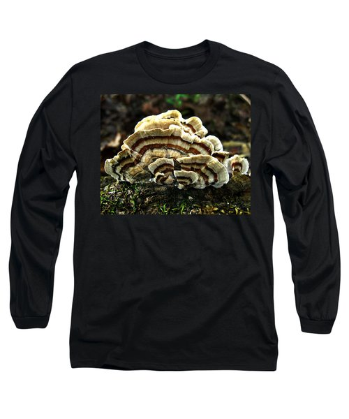 Turkey Tail Fungi Long Sleeve T-Shirt