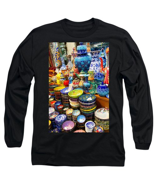 Turkish Ceramic Pottery 1 Long Sleeve T-Shirt