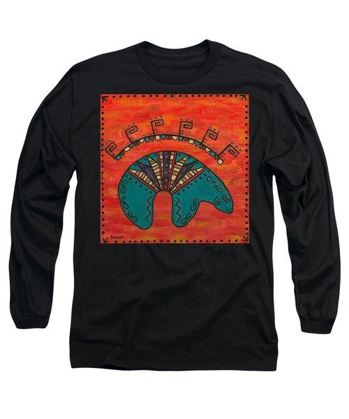Turquoise Oso Bear Fetish Long Sleeve T-Shirt