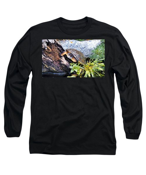 Long Sleeve T-Shirt featuring the photograph Turtle 1 by Dawn Eshelman