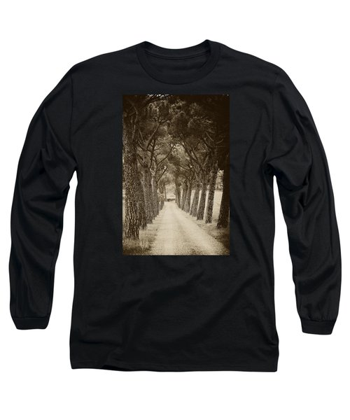 Long Sleeve T-Shirt featuring the photograph Tuscan Pines by Hugh Smith