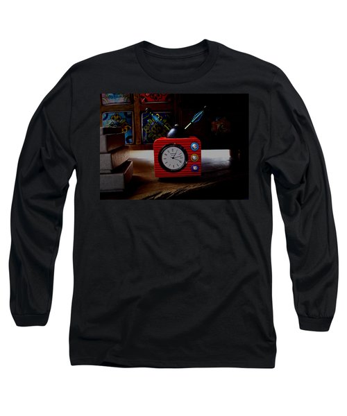 Tv Clock Long Sleeve T-Shirt