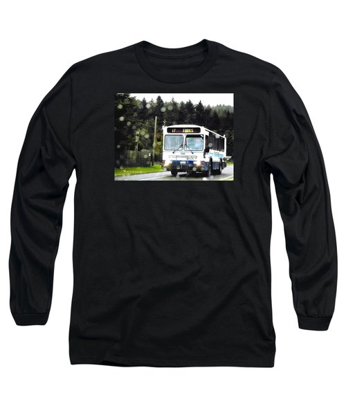 Twilight In Forks Wa 1 Long Sleeve T-Shirt by Sadie Reneau