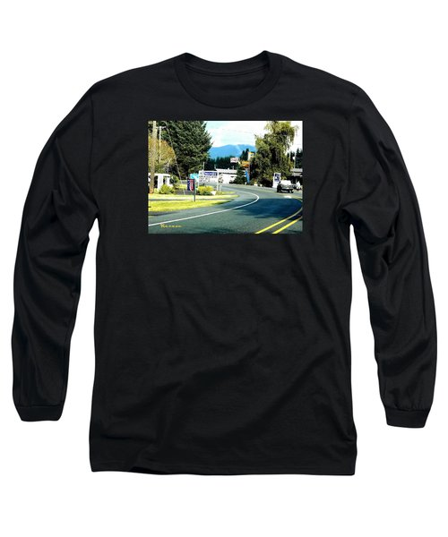 Twilight In Forks Wa 2 Long Sleeve T-Shirt