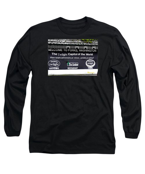 Twilight In Forks Wa 5 Long Sleeve T-Shirt by Sadie Reneau