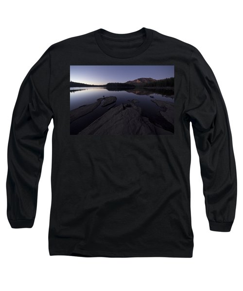 Twilight On Silver Lake Long Sleeve T-Shirt
