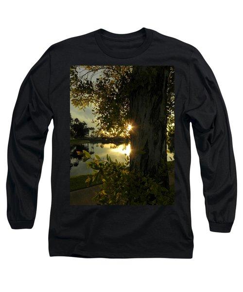 Long Sleeve T-Shirt featuring the photograph Twilight Splendor by Deb Halloran