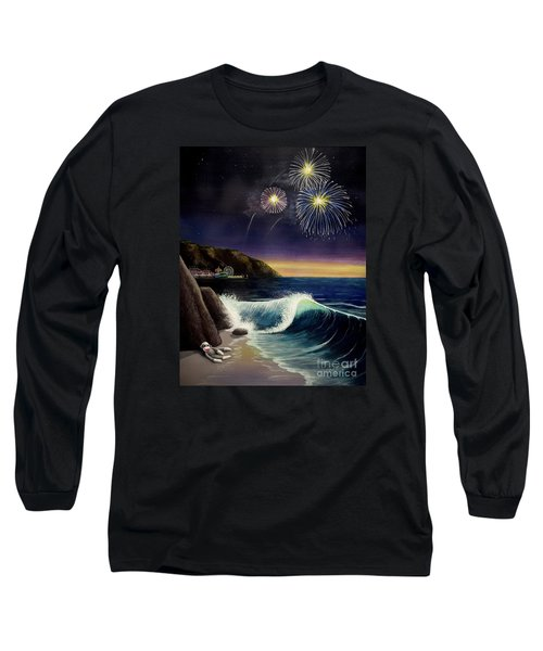 Twilight's Last Gleaming Long Sleeve T-Shirt by Jack Malloch