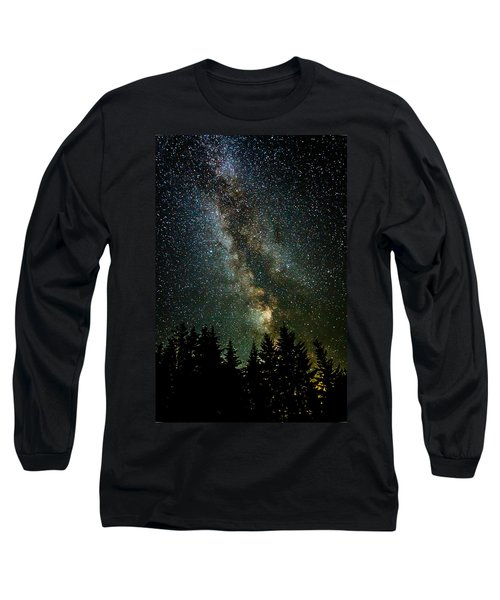 Twinkle Twinkle A Million Stars  Long Sleeve T-Shirt by Wes and Dotty Weber
