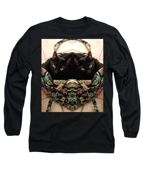 Long Sleeve T-Shirt featuring the photograph Twins by Luther Fine Art