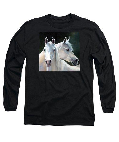 Twins Long Sleeve T-Shirt by Vivien Rhyan