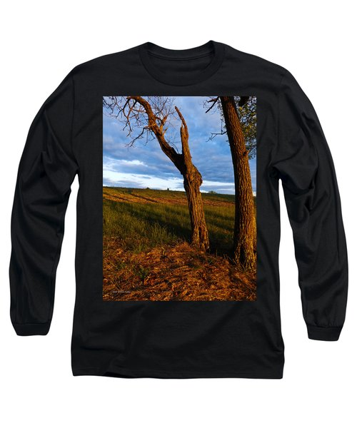 Twisted Tree Long Sleeve T-Shirt by Nick Kirby