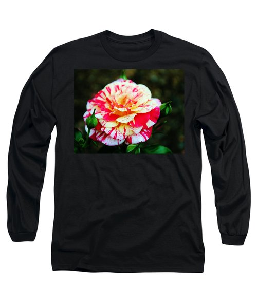 Two Colored Rose Long Sleeve T-Shirt