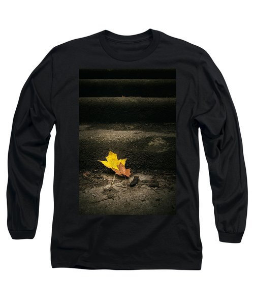 Two Leaves On A Staircase Long Sleeve T-Shirt