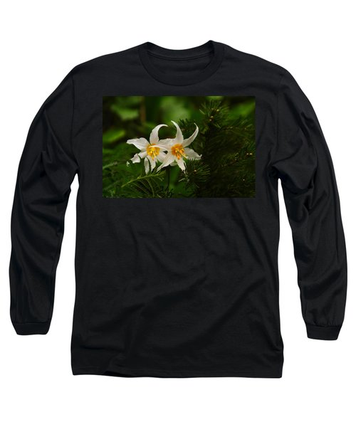 Two Lilies Long Sleeve T-Shirt
