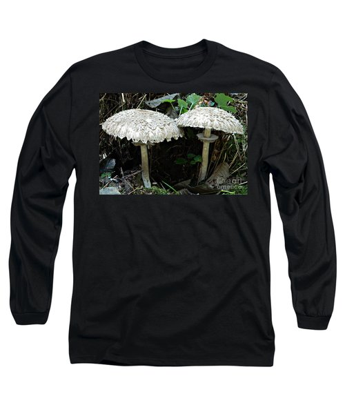 Two Magnificent Toadstools Long Sleeve T-Shirt by Chalet Roome-Rigdon