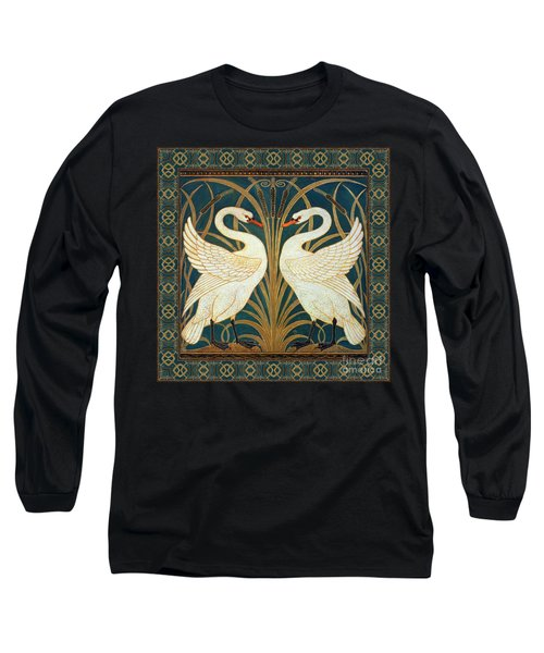 Two Swans Long Sleeve T-Shirt
