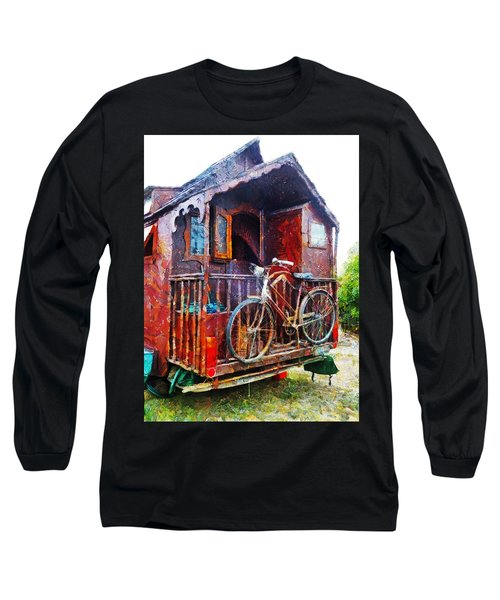 Two Wheels On My Wagon Long Sleeve T-Shirt