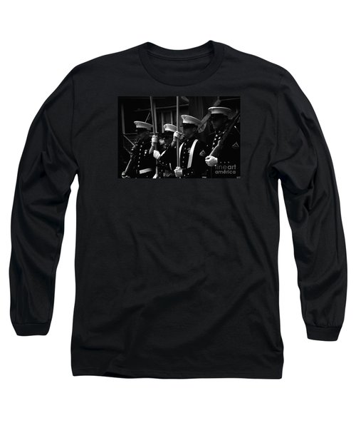 U. S. Marines - Monochrome Long Sleeve T-Shirt