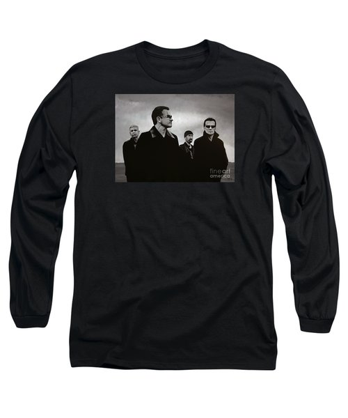U2 Long Sleeve T-Shirt by Paul Meijering