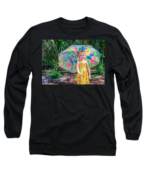 Long Sleeve T-Shirt featuring the photograph Under My Umbrella by Rob Sellers