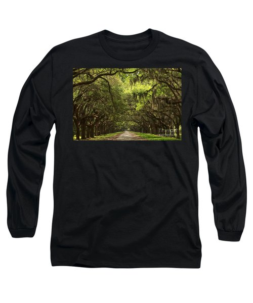 Under The Ancient Oaks Long Sleeve T-Shirt