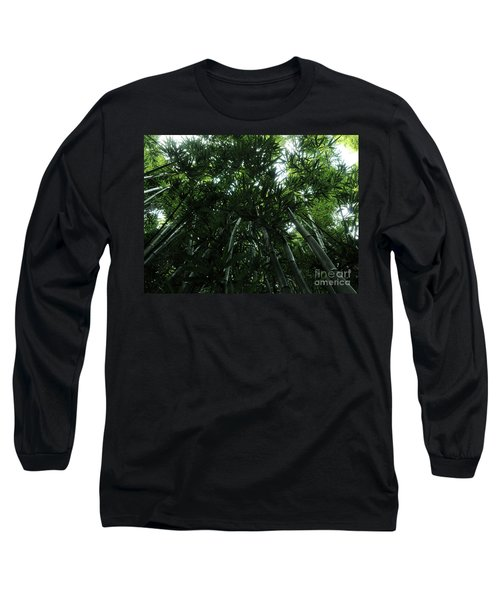 Long Sleeve T-Shirt featuring the photograph Under The Bamboo Haleakala National Park  by Vivian Christopher
