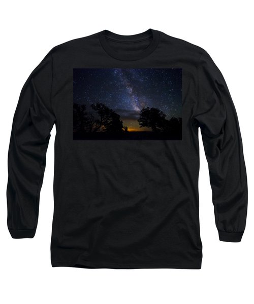 Under The Stars At The Grand Canyon  Long Sleeve T-Shirt