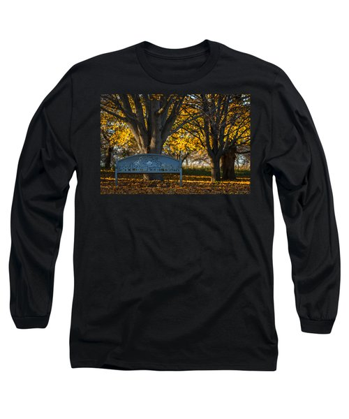 Long Sleeve T-Shirt featuring the photograph Under The Tree by Sebastian Musial