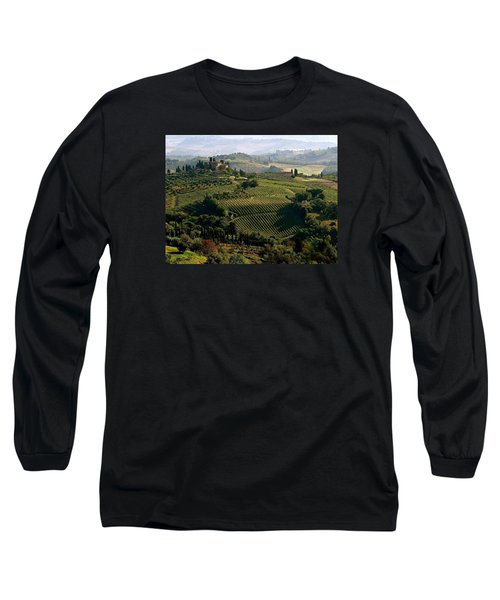 Under The Tuscan Sun Long Sleeve T-Shirt by Ira Shander